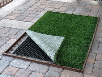 Pup-Lawn Complete Patio Lawn Kit